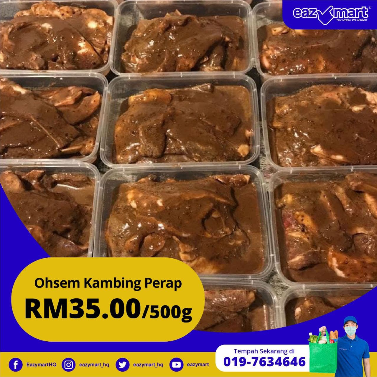 Kambing Perap (Include Postage)