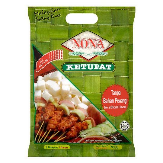 Ketupat Malaysian Satay Rice 6 Packs