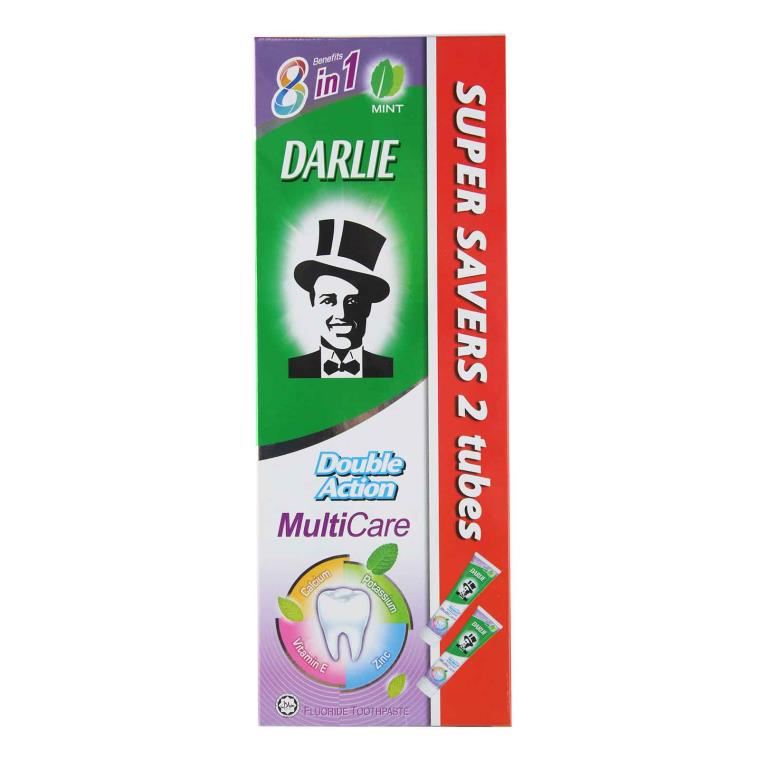 Double Action Fluoride Multicare Toothpaste