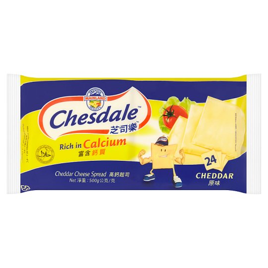 Chesdale Cheddar Cheese Spread 24 slices