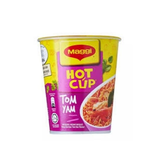 Hot Cup Instant Noodles Tom Yam Kaw Flavour