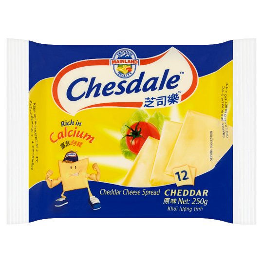 Chesdale Cheddar Cheese Spread 12 pcs