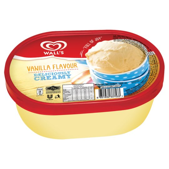 Vanilla Ice Confection