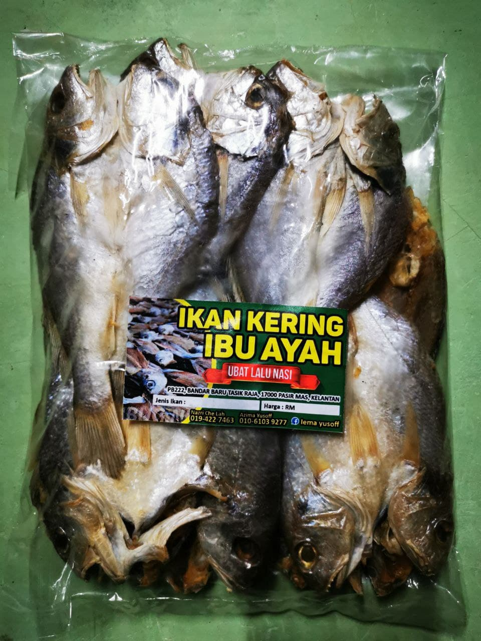 Ikan Gelama Bekok Geting