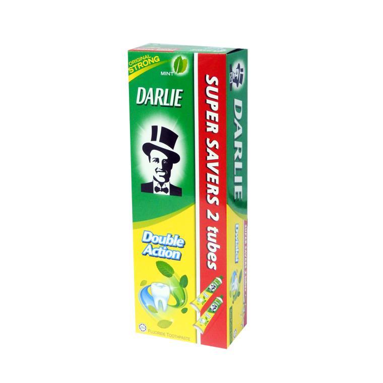 Pek Nilai Double Action Mint Fluoride Toothpaste