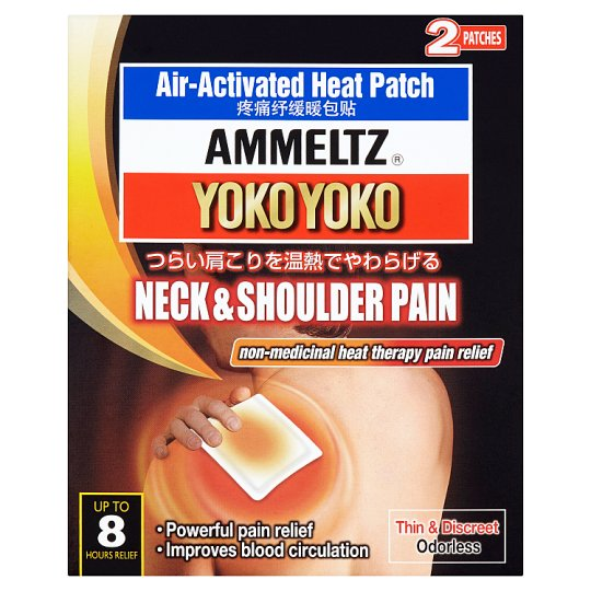 Yoko Yoko Neck & Shoulder Pain Air-Activated Heat Patch 2 Patches
