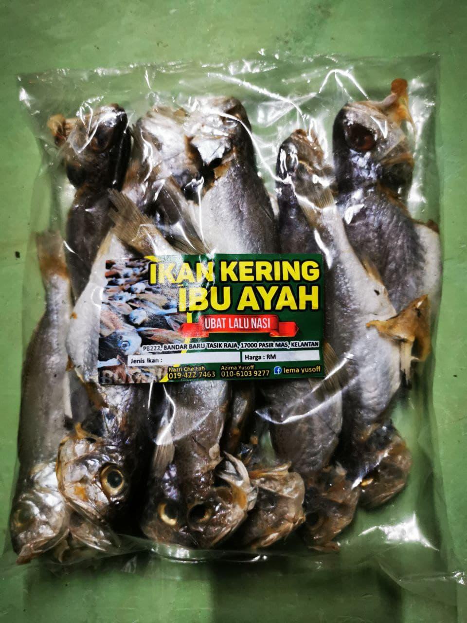 Ikan Gelama Butir Geting