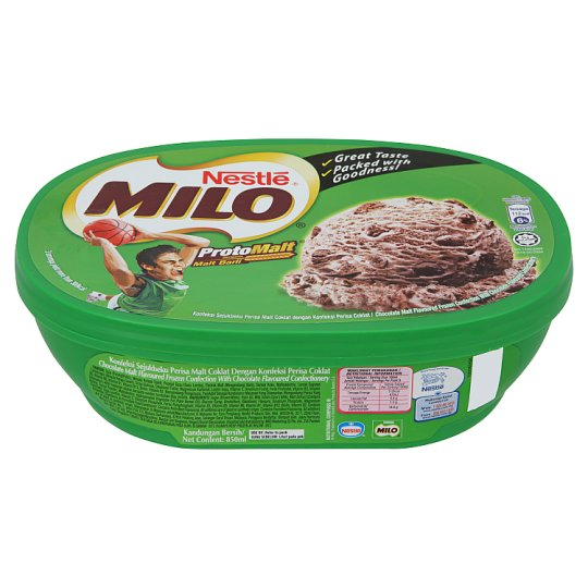 Milo Chocolate Malt Ice Cream