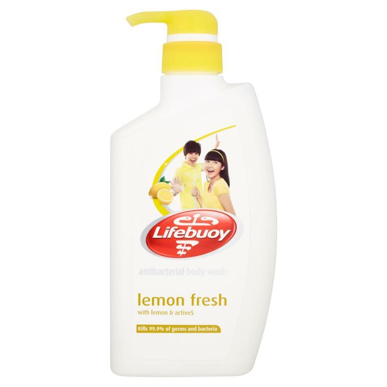 Antibacterial Body Wash Lemon Fresh