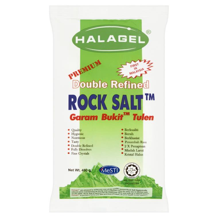 Halagel Garam Bukit Double Refine