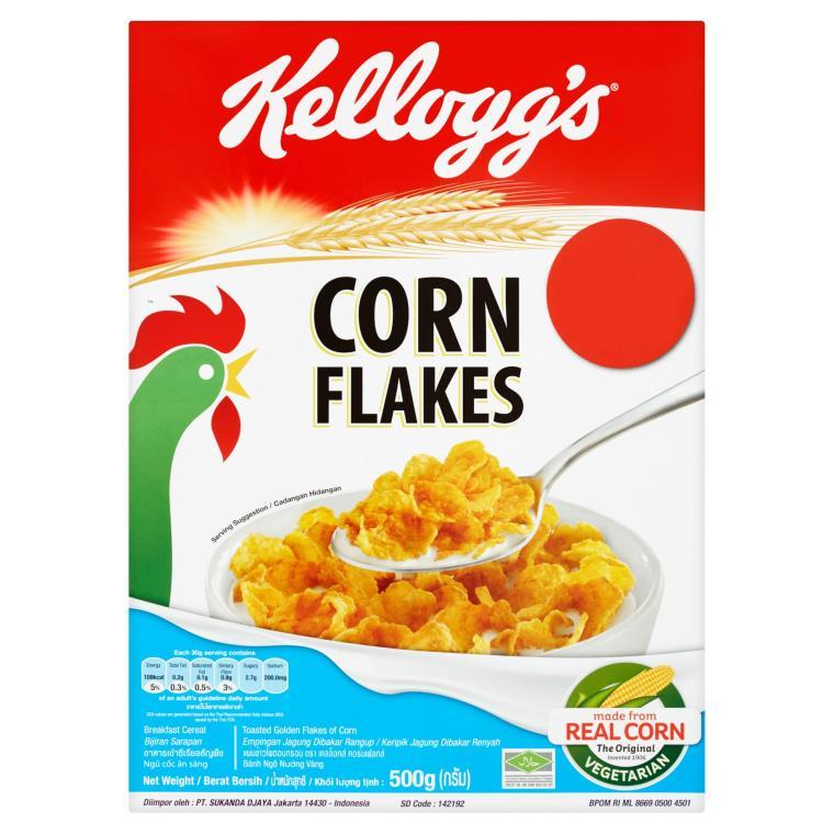 Corn Flakes Breakfast Cereal