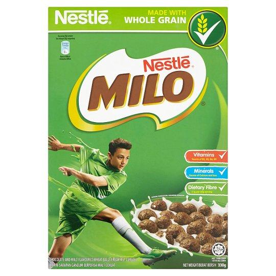 Milo Chocolate And Malt Flavoured Wheat Balls Breakfast Cereal