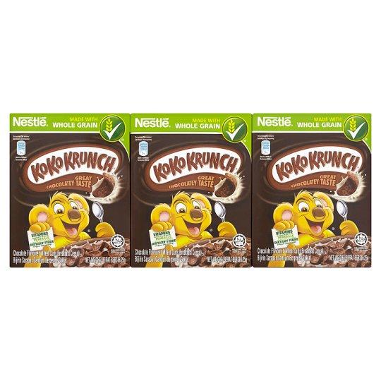Koko Krunch Chocolate Flavoured Wheat Curls Breakfast Cereal 6 x