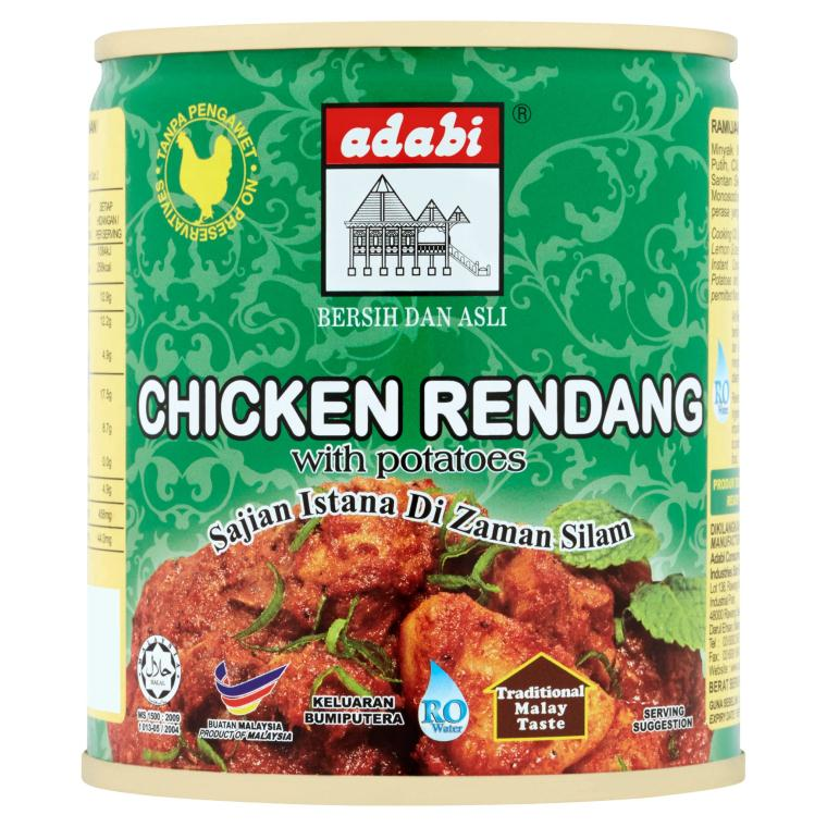 Chicken Rendang with Potatoes