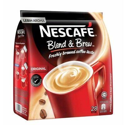 Blend & Brew Original 3 in 1 Premix Coffee (28 Stick Packs x 19g)