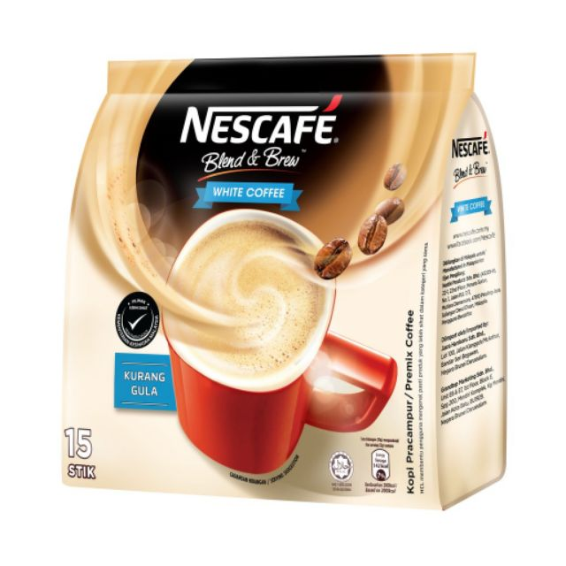 BLEND & BREW WHITE COFFEE (15 Stik 32g)