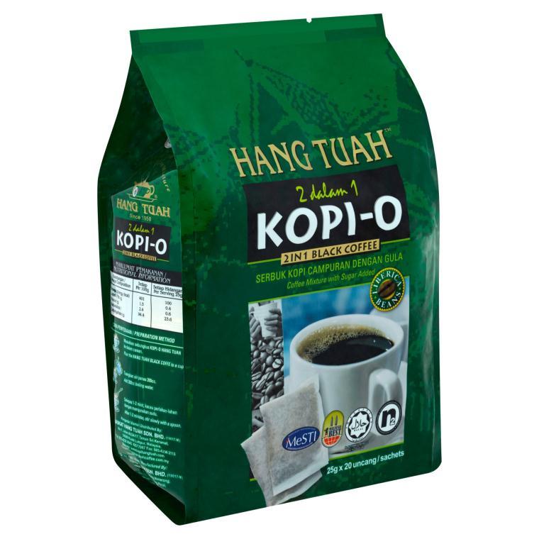 Kopi-O 2 in 1 Black Coffee Liberica Beans