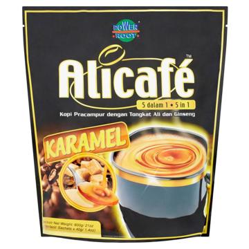 5 in 1 Tongkat Ali & Ginseng Caramel Premix Coffee (15 Sachets x 40g)