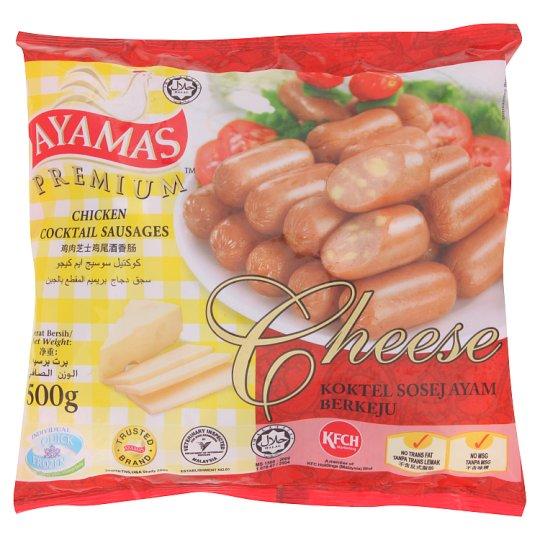 Premium Cheese Chicken Cocktail Sausages