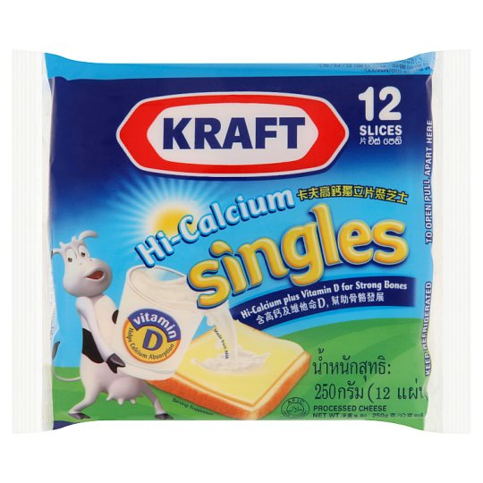 Singles Processed Cheese 12 Slices