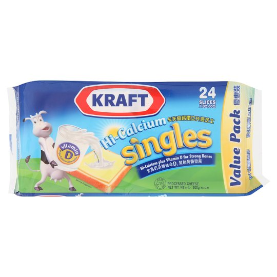 Singles Processed Cheese 24 Slices