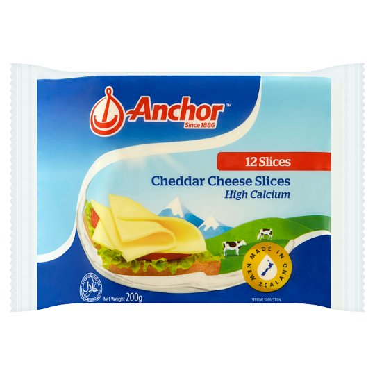 Cheddar Cheese Slices 12pcs
