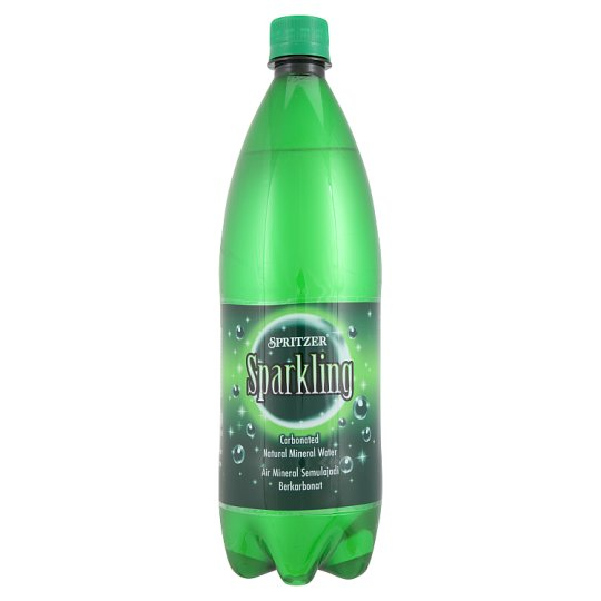 Sparkling Carbonated Natural Mineral Water