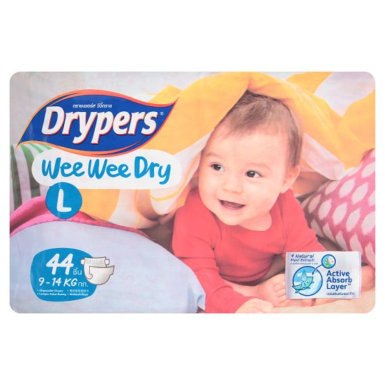 Wee Wee Dry Disposable Diaper L 9-14kg