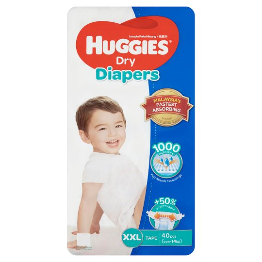 Dry Diapers Tape XXL Over 14kg