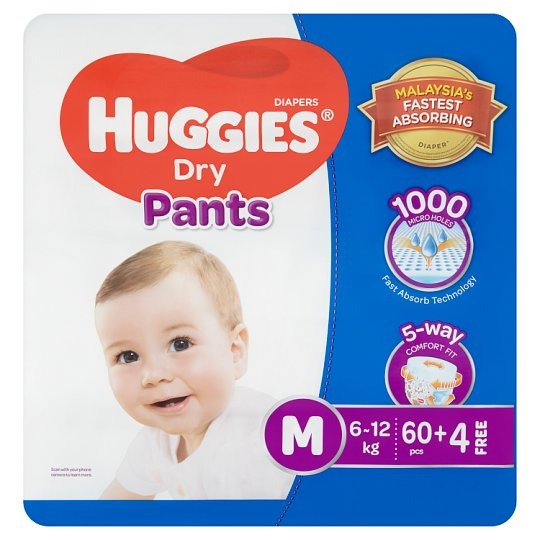Dry Pants Diapers M 6-12kg