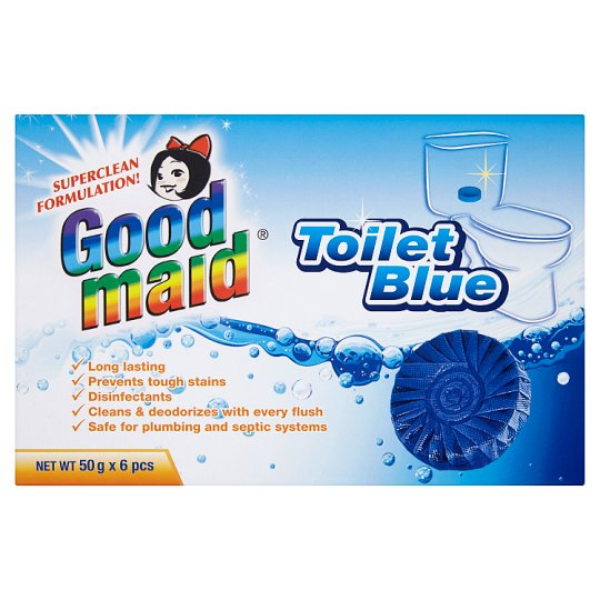Toilet Blue 6pcs x