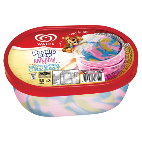 Paddle Pop Rainbow Ice Confection